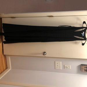 Floor length bcba gown